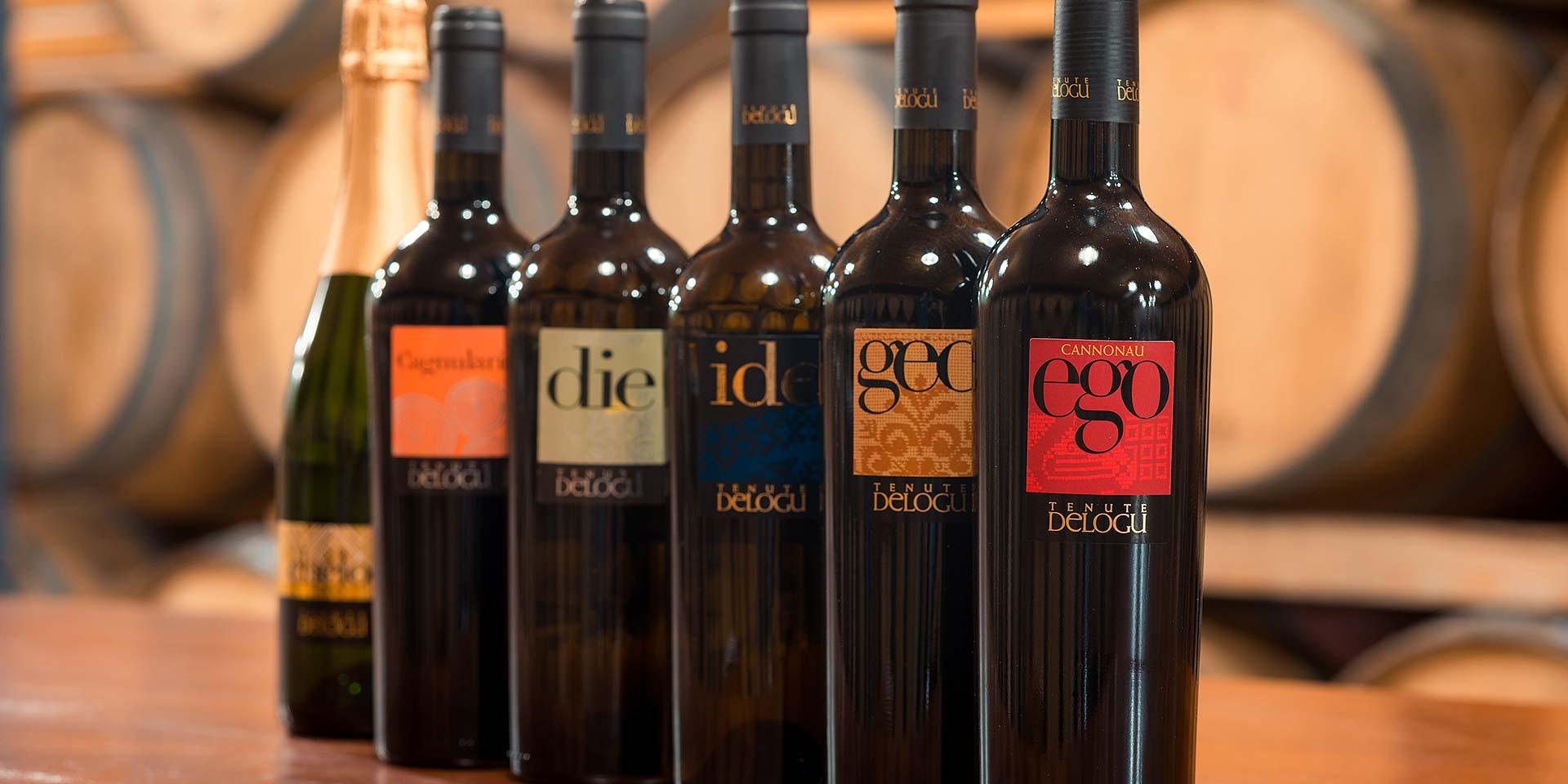 Vendita vini di Sardegna - Tenute Delogu