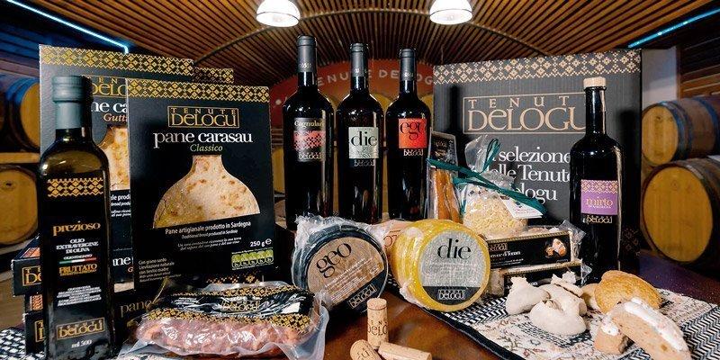 Selezione prodotti enogastronomici sardi - Tenute Delogu
